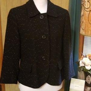 Ann Taylor Speckled Jacket, Size 10P